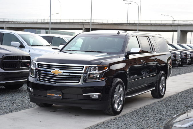 2017 Chevrolet Suburban 4WD 1500 Premier in Black