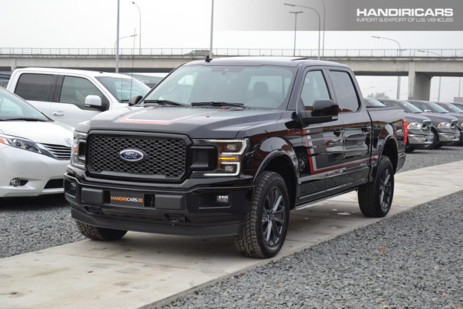 2018 Ford F-150 4WD SuperCrew Lariat in Shadow Black