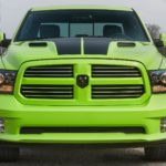 2017 Ram 1500 4WD Crew Cab Sport with Sublime Green Sport Package in Sublime Metallic