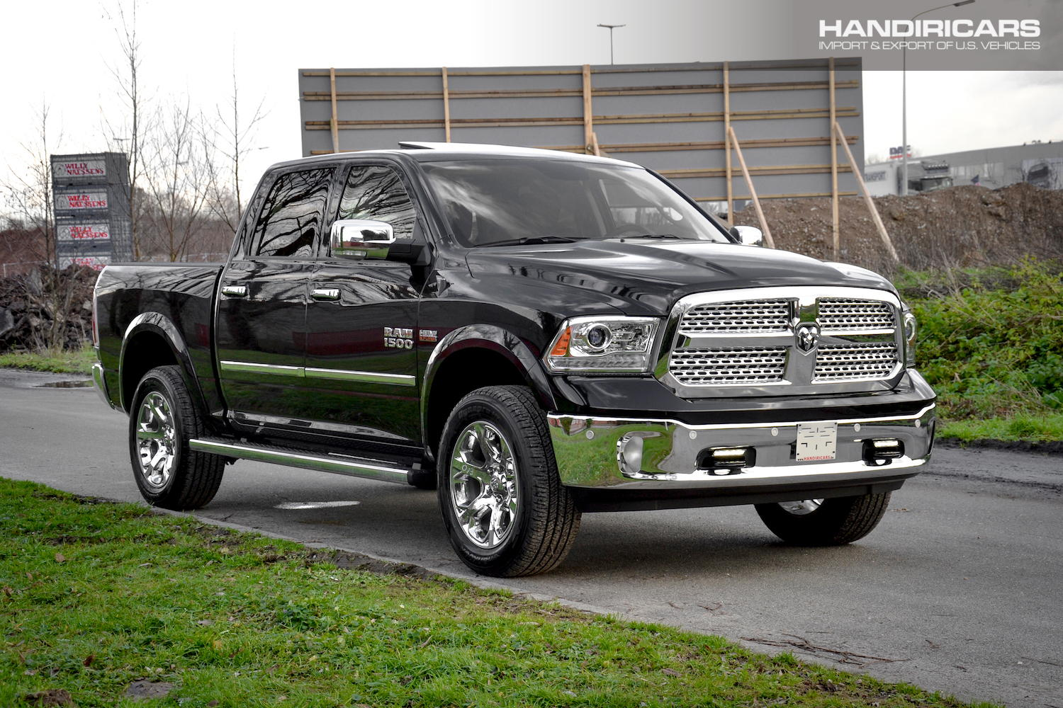 Dodge Ram 1500 Laramie Air Suspension Apple Carplay