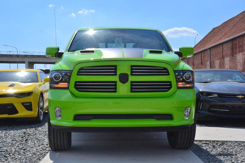 Voorzicht op de 2017 Dodge Ram Sublime Sport 4WD Crew Cab