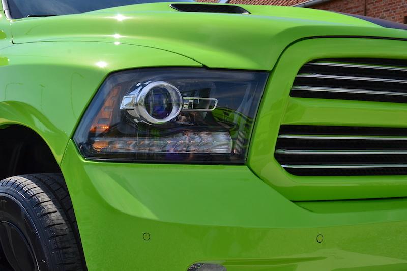 Koplamp van de 2017 Dodge Ram Sublime Sport 4WD Crew Cab