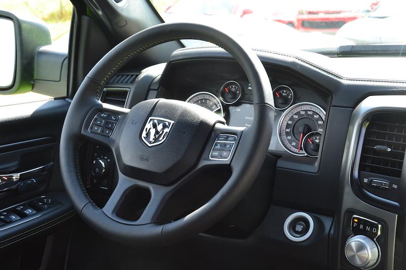 Stuur van de 2017 Dodge Ram Sublime Sport 4WD Crew Cab