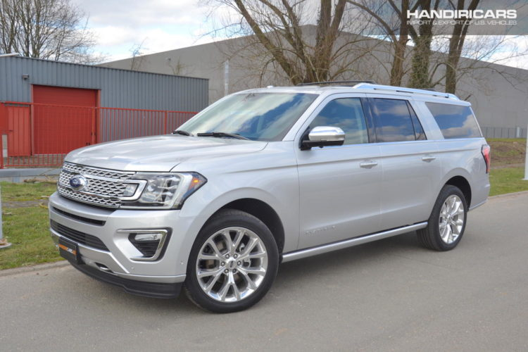 2018 Ford Expedition MAX Platinum 4x4 in Ingot Silver Metallic