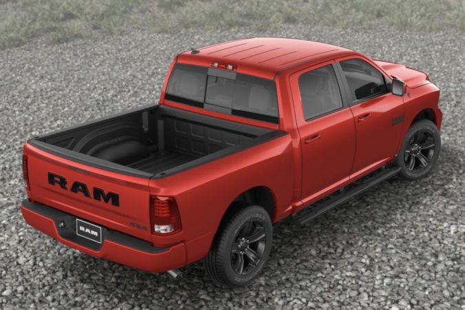 2018 Ram Sport in Flame Red
